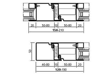 Scheda tecnica profilo in alluminio forster presto - Profili alluminio per finestre ...